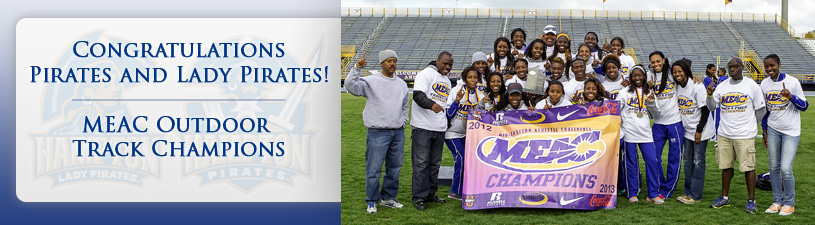 Congratulations Pirates and Lady Pirates - MEAC Outdoor Track Champions