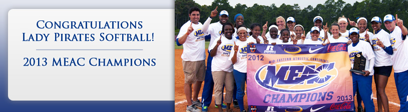 Congratulations Lady Pirates MEAC Tournament Champions