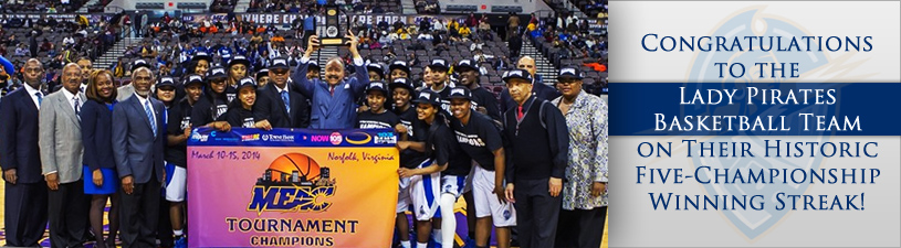 Congratulations to the Lady Pirates Basketball Team on Their Historic Five-Championship Winning Streak!