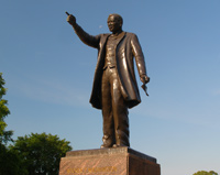 Booker T. Washington Memorial (<a href='http://www.hamptonu.edu/about/notable_alumni.cfm' style='color:#ebebeb'>Visit Site</a>)