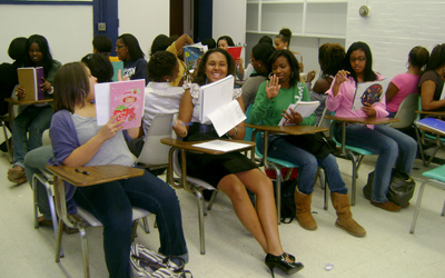 Rose Petals in Class