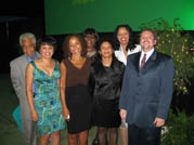 Psychology faculty at the gala dinner 