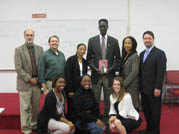 Psychology Department hosts author and abolitionist Francis Bok