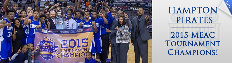 Hampton Pirates - 2015 MEAC Champions