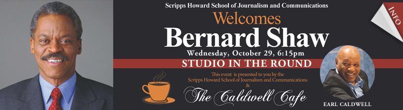 HU Scripps Howard J School Welcomes National News Anchor Bernard Shaw