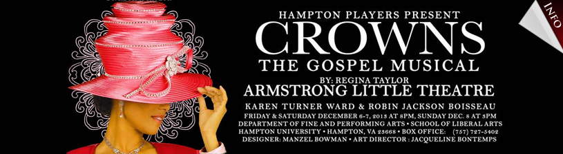 HU Players and Company Present 'Crowns'
