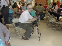 Cameraman Steve Bognar, Yellow Spring, Ohio, award winning documentary film maker
