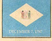 Delaware. Ratified: December 7, 1787. Population: 59,096