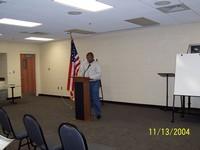 Introduction of Speaker ----- Mr. Steve Gill -- Atlanta, Georgia