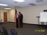 Guest Speaker ----- Honorable Mayor James Perkins -- Selma, Alabama