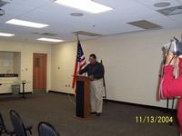Presentation ----- Mr. Norm Hill -- 13th USCT