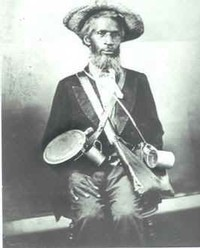 Another body servant said to be a black Confederate soldier.