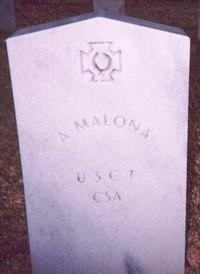 A. Malona (Old Gravestone)