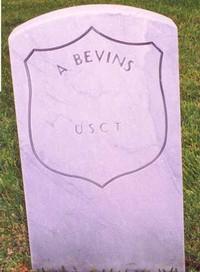 A. Bevins (New Gravestone)