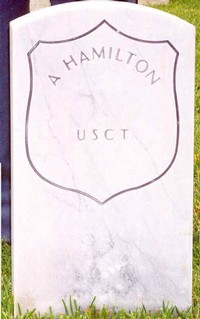 A. Hamilton (New Gravestone)