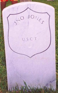 Jno Jones (New Gravestone)