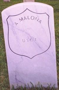 A. Malona (New Gravestone)