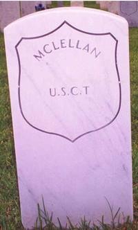 McLellan (New Gravestone)