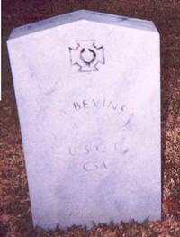 A. Bevins (Old Gravestone)