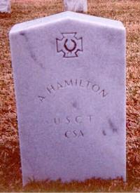 A. Hamilton (Old Gravestone)