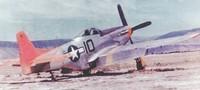 P-51, 100th Fighter Squadron, Cattulica Aerodrome, Rimini, Italy - 1944