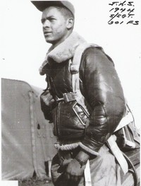 Staff Sergeant James A. Sheppard, 301st Fighter Squadron, Montecorvino Airdrome, Italy - 1944