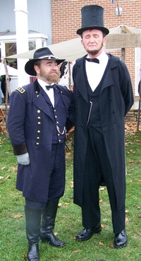General Ulysses S. Grant and President Abraham Lincoln