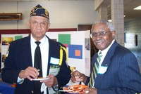 Charles Harris and John Mitchell, Korean War Veterans