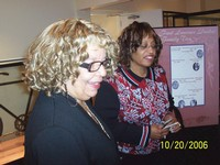 Ms. LaVerne Sci and Congresswoman Corrine Brown