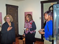 Tour conducted by Ms. LaVerne Sci, Director, Dunbar House State Memorial