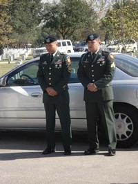 Staff Sergeant Glenn Samson and Sergeant Alejandro Deluna, Fort Sam Houston
