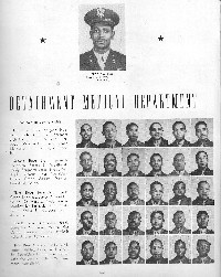 Page 1 - Detachment Medical Department - 1942 - Tuskegee Army Flying School