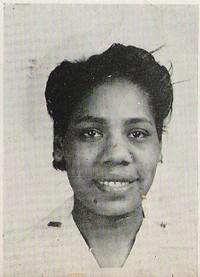 Sarah F. Thomas - Second Lieutenant