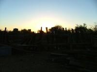 Sunrise over  Keeylocko