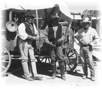 Keeylocko Cowboys, Tony, Linus and George.
