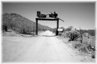 The entrance to Cowtown Keeylocko