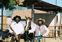 Reggie Simmons and George (2 horse) Taylor