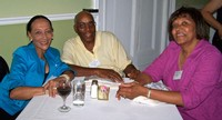 L-R: Connye Davis Richardson, Bill and Jojean Earley