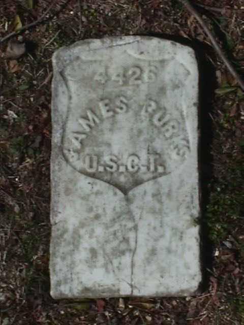 James Burks Grave Marker - 4426