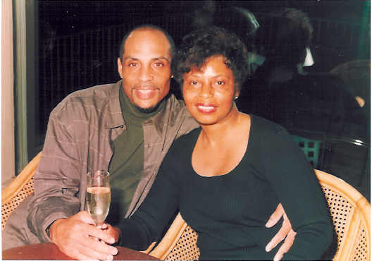 Tony and Elaine - New Year's Eve 2001