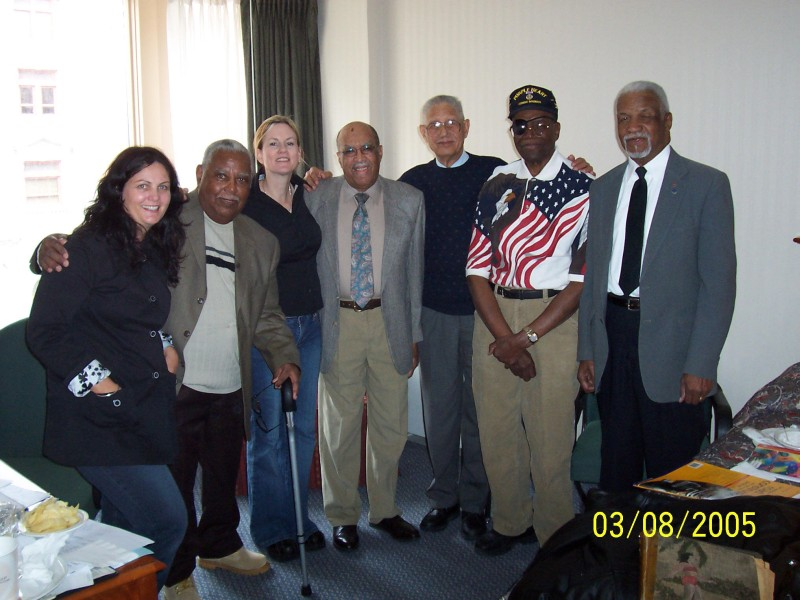 L-R: Nicole, Otis, Veronica, Bennie, George, Jay and Frederick