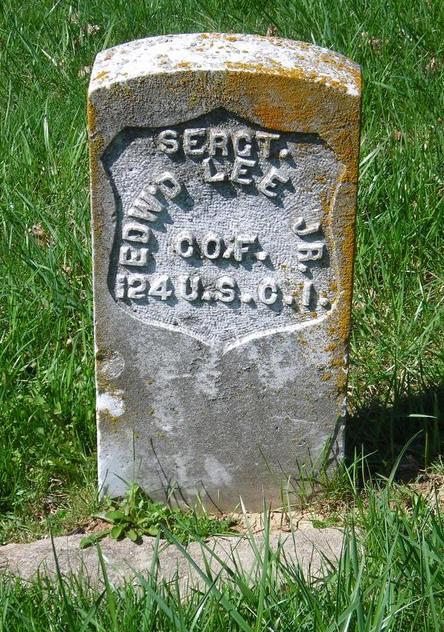 Sergeant Edward Lee, Jr.