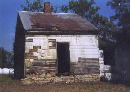 Nineteenth Century 'Cookhouse' on Margaret Garner Farm (photo by Joanne Caputo)