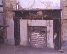Interior of 'Cookhouse' on Margaret Garner Farm (photo by Joanne Caputo)