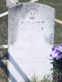 Pompey Pactor - Seminole Indian Scouts' Cemetery Brackettville, Texas
