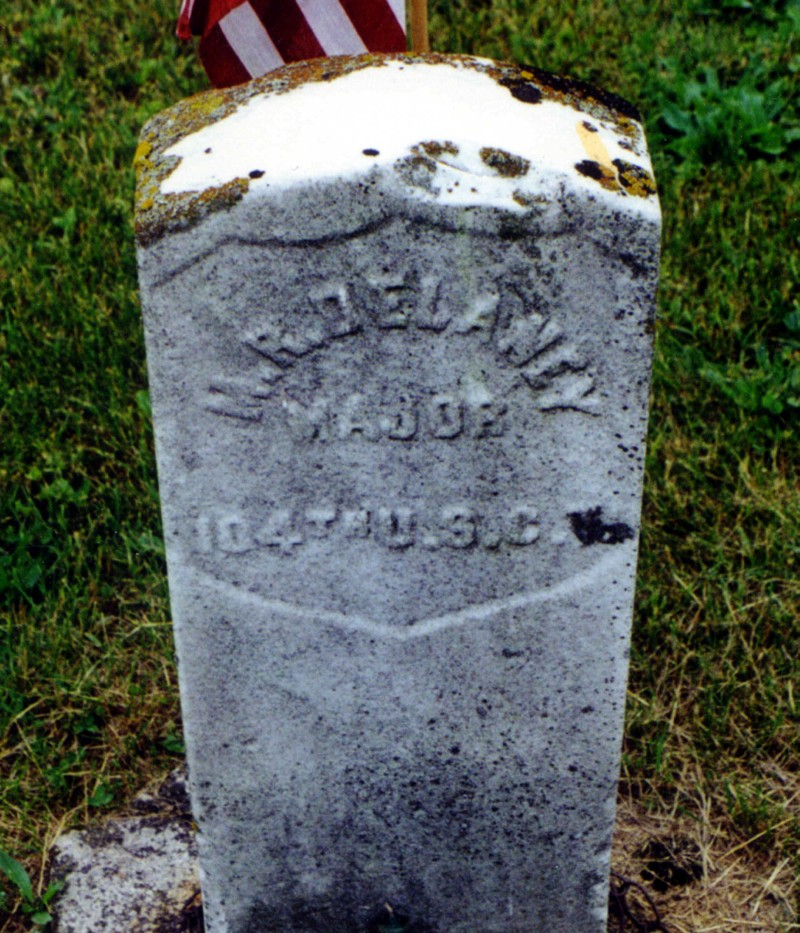 Current Grave Marker