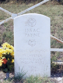 Isaac Paine - Seminole Indian Scouts' Cemetery Brackettville, Texas
