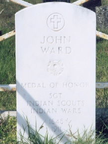 John Ward - Seminole Indian Scouts' Cemetery Brackettville, Texas