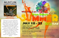 Summer Tree House. For children 6 - 12 years old. Camp times: 8:15AM - 4:45PM. Tuition Fee: $150.