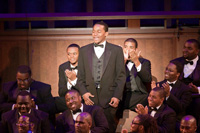 Christen Wilson, a member of Hampton University's Concert  and University Choirs, was a recipient of a $5,000 scholarship  sponsored by the 105 Voices of History